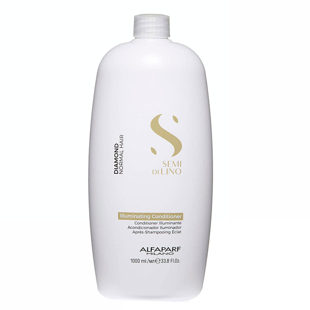 Alfaparf Milano Semi Di LINO Diamond Normal Hair Illuminating Conditioner 1L/33.8fl.oz