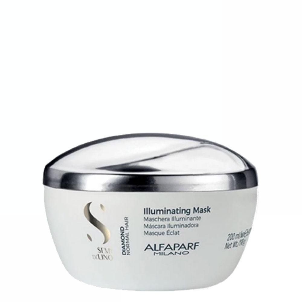 Alfaparf Milano Semi Di LINO Diamond Normal Hair Illuminating Mask 200ml/6.98fl.oz