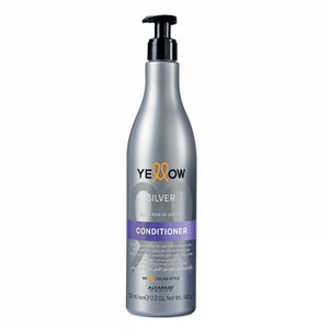 Alfaparf Yellow Silver Açai & Rose of Jericho No-Brass Conditioner 500ml/16.9fl.oz