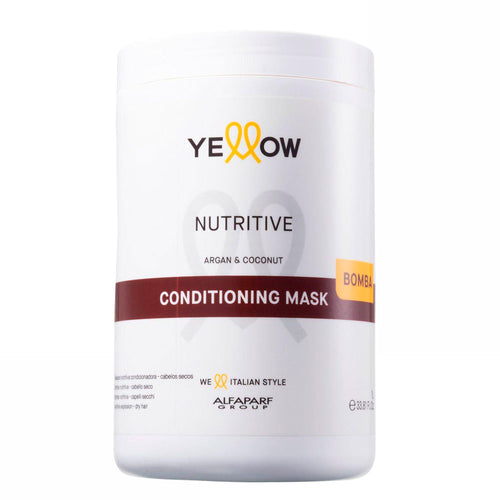 Alfaparf Yellow Nutritive Conditioning Mask para Cabelos Secos 1L/33.81fl.oz