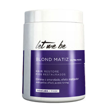 Load image into Gallery viewer, Let Me Be B-Btox Blond Matiz Tint Platinum Effect 1kg/35.2fl.oz