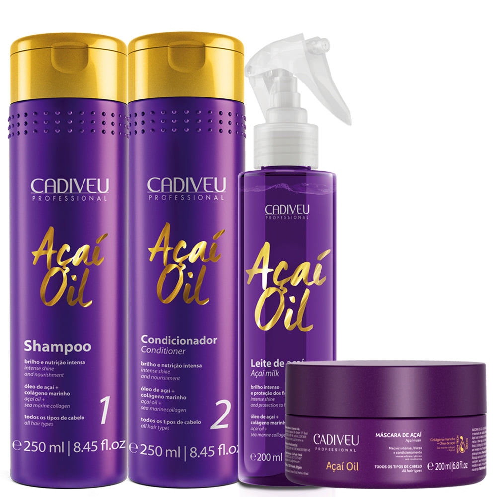 Kit Cadiveu Açaí Oil Home Care Treatment