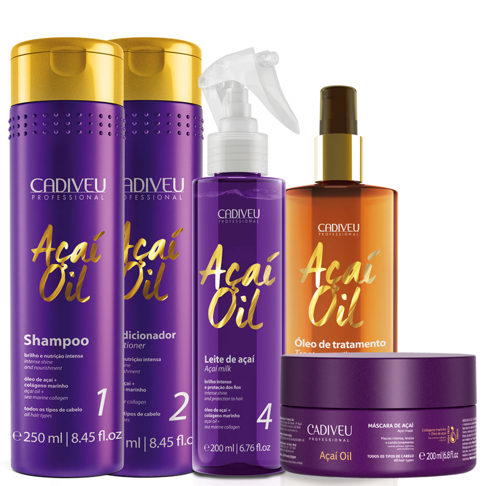 Kit Cadiveu Açaí Treatment Hydrates and Restores