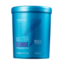 Load image into Gallery viewer, Cadiveu Pó Descolorante Azul Master Blond Multi Técnicas 400g
