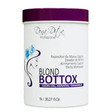 Load image into Gallery viewer, Dona Dita Blond BtoxRepository Mass Replenisher and Hair Alignment 1kg/35.2fl.oz
