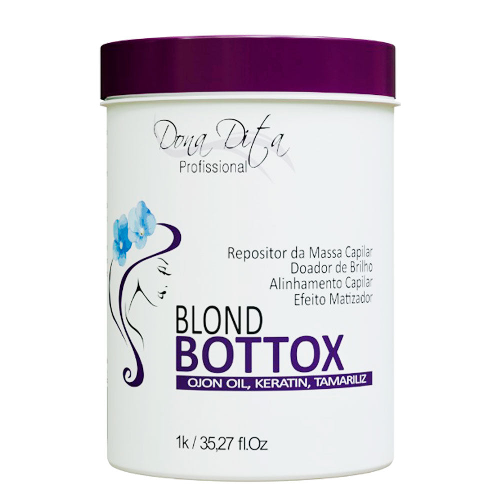 Dona Dita Blond BtoxRepository Mass Replenisher and Hair Alignment 1kg/35.2fl.oz