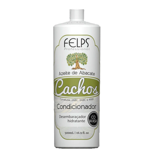 Felps Curls Avocado Oil Conditioner Co Wash 2ABC - 4ABC 500ml/16.9fl.oz