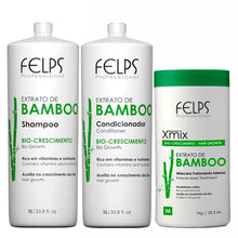Load image into Gallery viewer, Felps Kit Bamboo Extract Complete Treatment