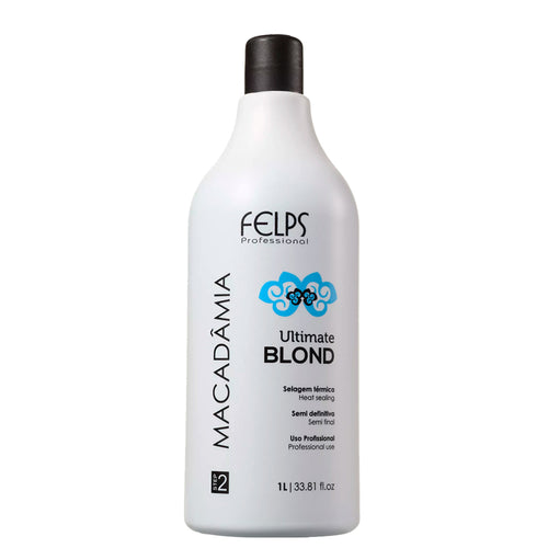 Sealing Felps Macadamia Ultimate Blond Natural Smooth Effect