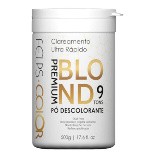 Felps Color Premium bleaching powder Blond 9 Tones 500g/17.6fl.oz