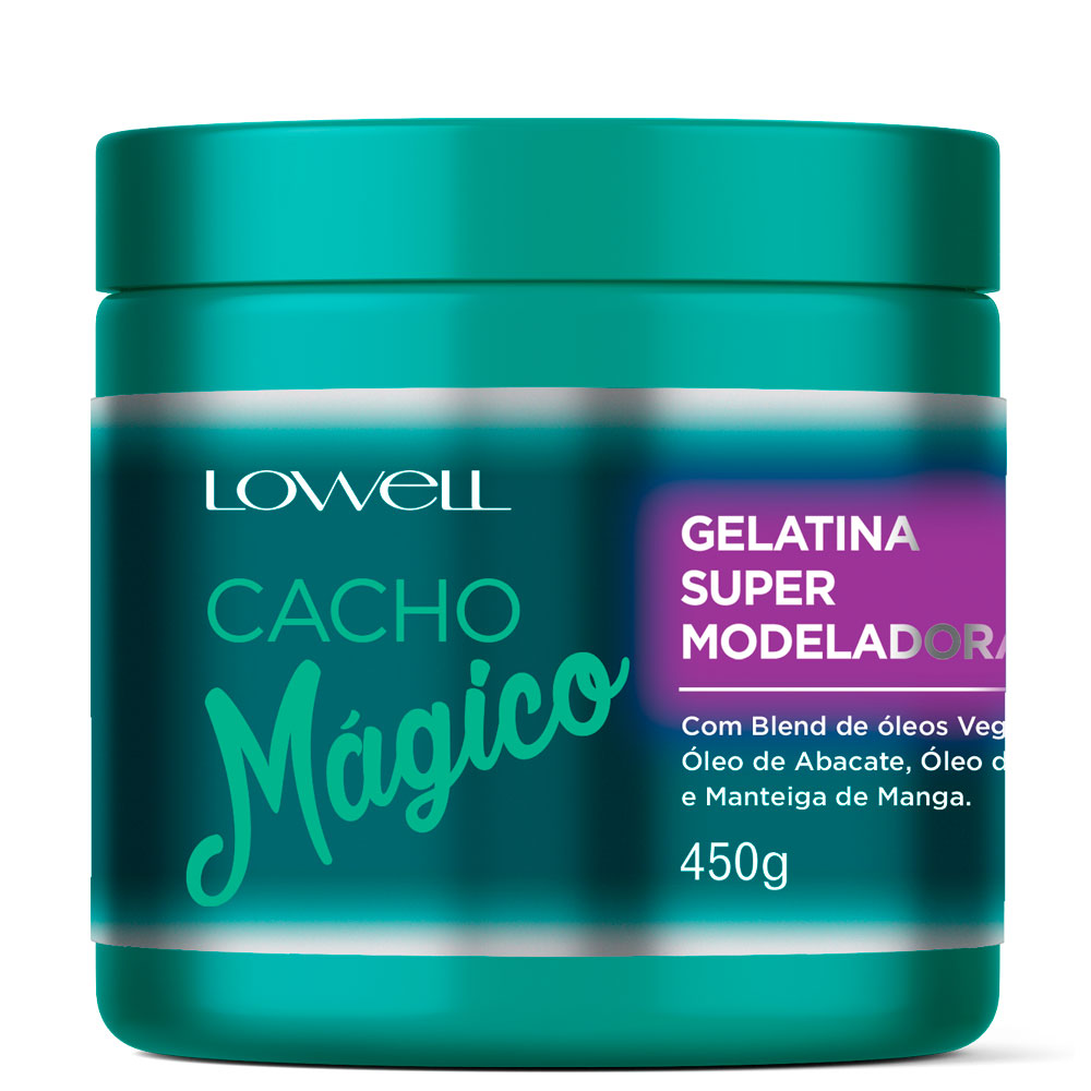 Lowell Cacho Mágico Jelly Curl Super Styling 450g/15.21fl.oz