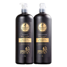 Load image into Gallery viewer, Haskell Strong Horse Kit Shampoo + Conditioner 2x1L/2x33.8fl.oz
