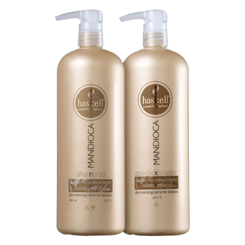 Haskell Cassava Kit Shampoo and Conditioner 2x1L2x33.8fl.oz
