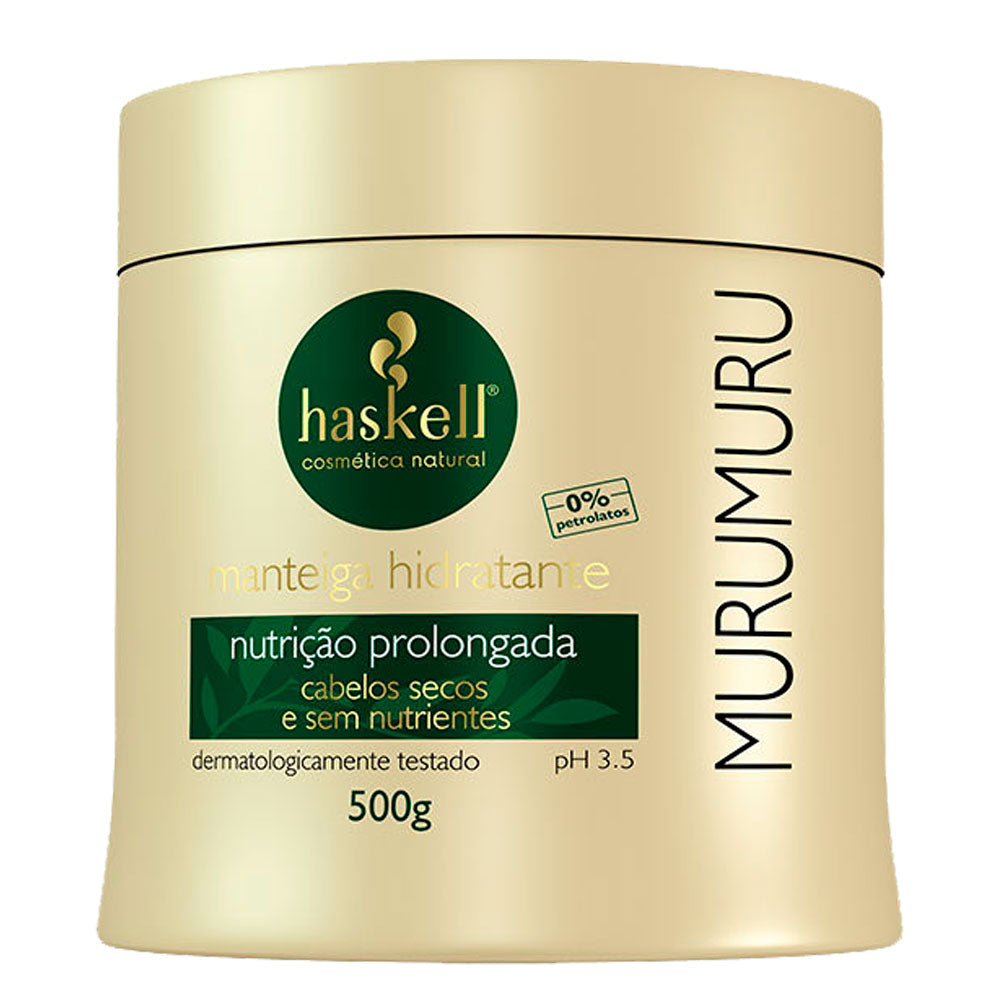 Haskell Murumuru Moisturizing Butter Extended Nutrition for Dry Hair 500g/17.6fl.oz