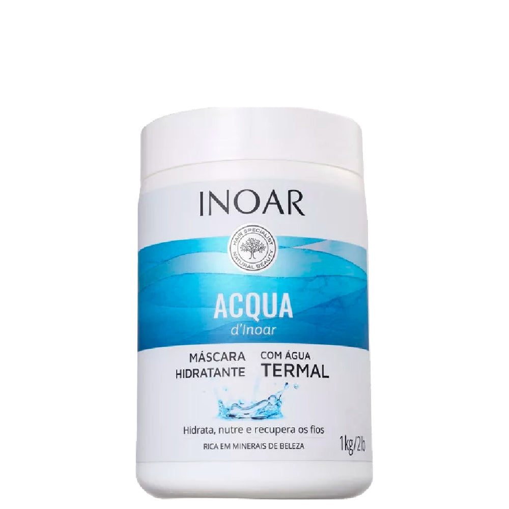 Inoar Acqua Thermal Moisturizing Mask Nourishes and Recovers Wire