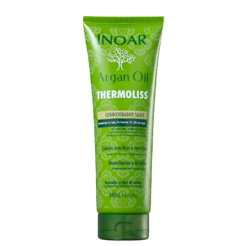 Inoar Argan Oil Thermoliss Soft Conditioner 240ml/8.11fl.oz