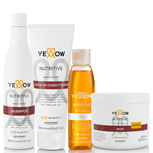 Alfaparf Yellow Nutritive Complete Daily Treatment Kit