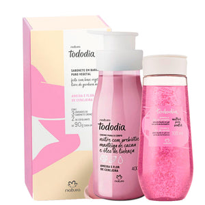 Kit Natura Complete Body Care Plum and Cherry Blossom