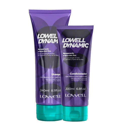 Lowell Kit Dynamic Shampoo e Conditioner For Recovery and Strength