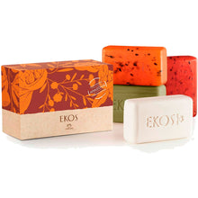 Load image into Gallery viewer, Natura Ekos Pure Vegetable Bar Soaps Creamy and Refreshing Exfoliating