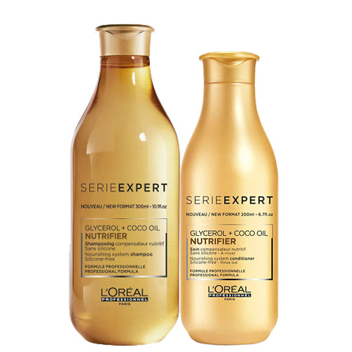 Loreal Professionnel Exper Series Nutrifier Kit Glycerol Coco Oil
