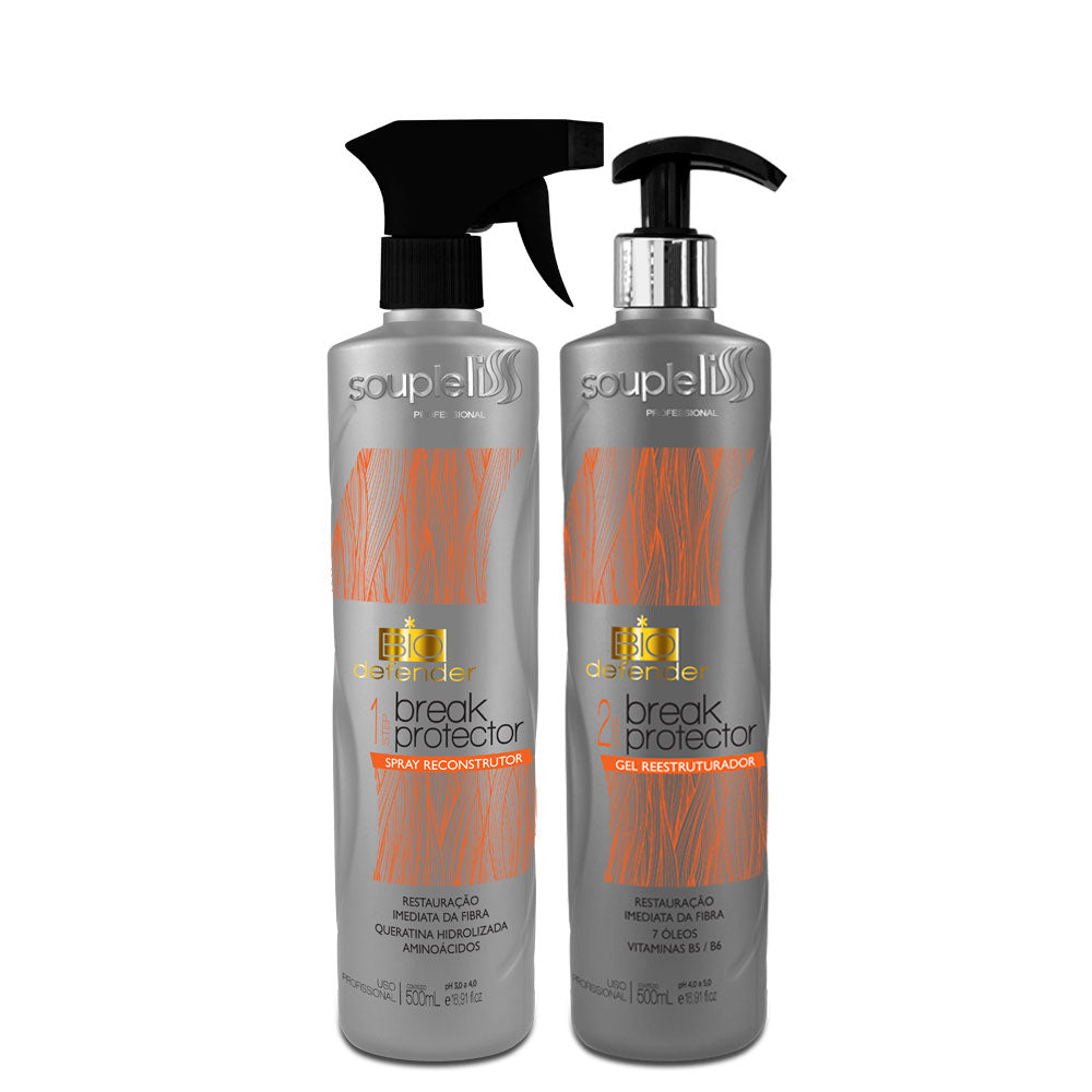 SoupleLiss Bio Defender Gel Reconstructing Spray Kit