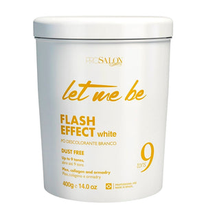 Let Me Be Bleaching Powder White Flash Effect Dust Free 9 Tones