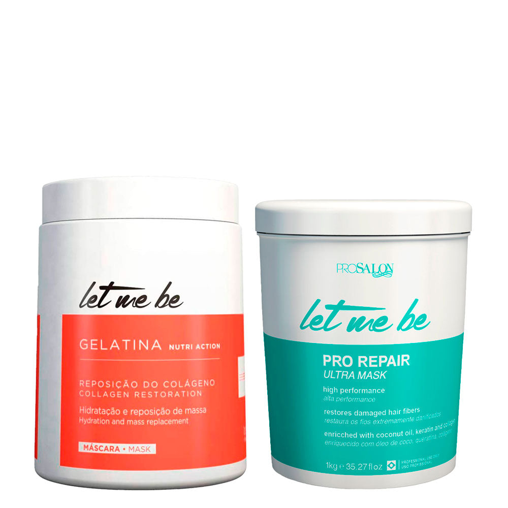 Let Me Be Capto Btox Kit + Moisturizing Gelatin Restoration