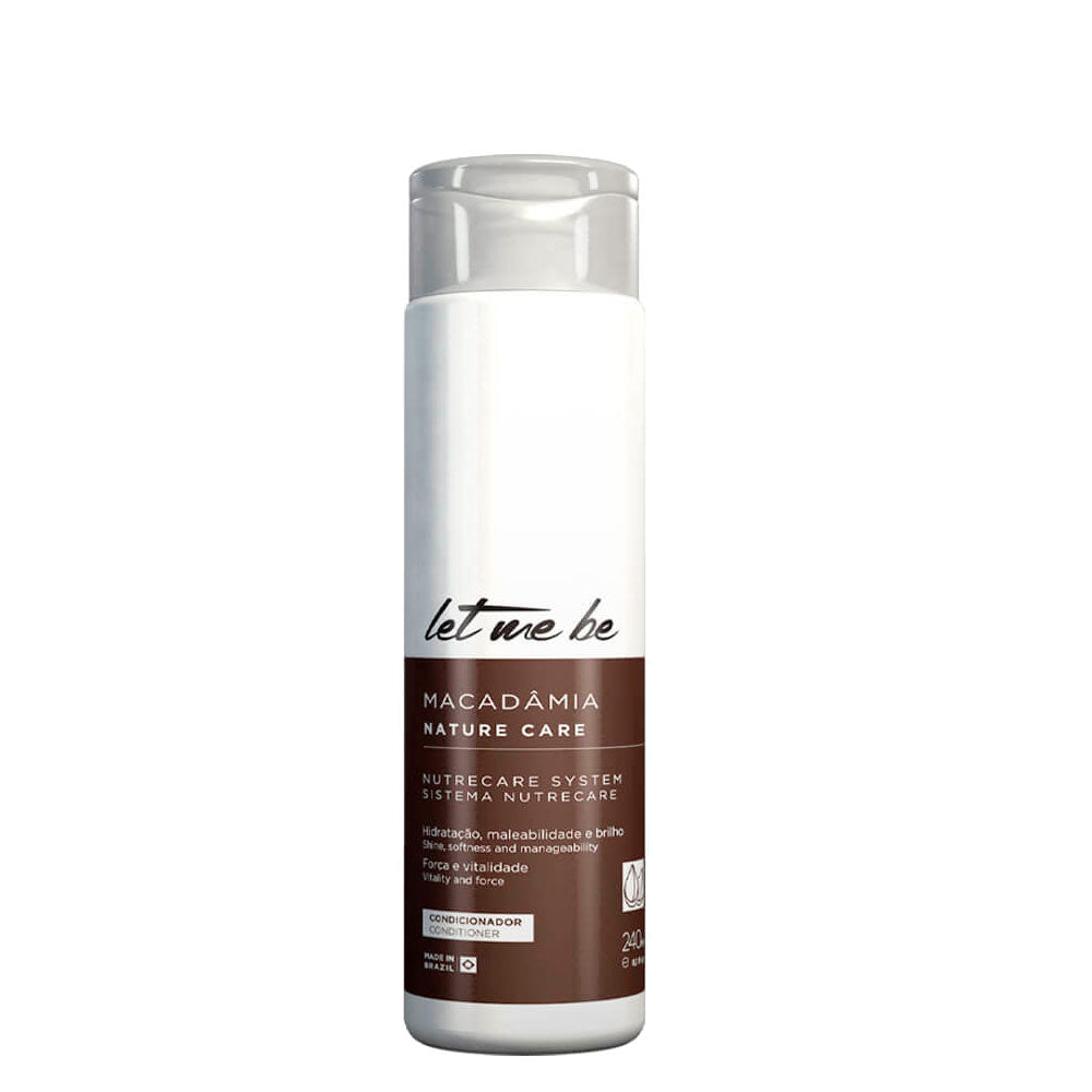Let Me Be Macadamia Home Care Maintenance Conditioner 300ml/10.14fl.oz.