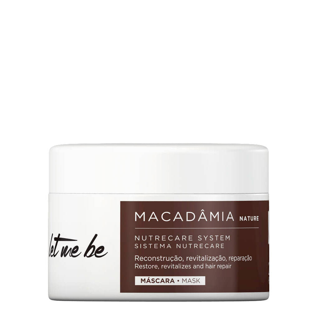 Let Me Be Macadamia Moisturizing Home Care Mask 250g/8.81fl.oz.