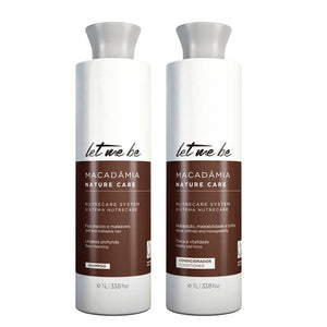 Let Me Be Macadamia Kit Daily Hair Treatment