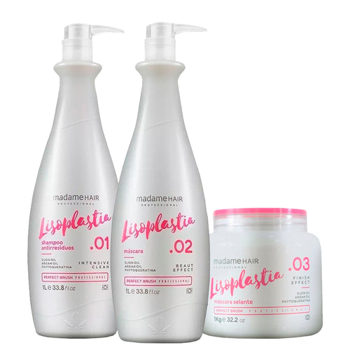 Madame Hair Treatment Efficient Oil Lysoplasty Kit
