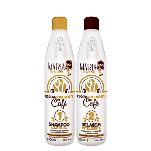 Maria Escandalosa Intelligent coffee brush sealant 2x1L/33.8fl.oz