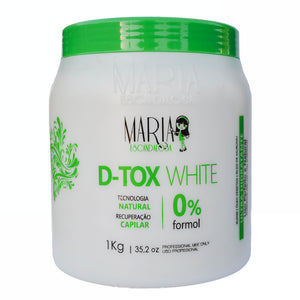Maria Escandalosa White Hair D-tox Without Formalin 1Kg/35.2fl.oz