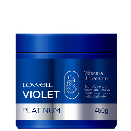Lowell Violet Platinum Moisturized Blonde Moisturized Mask 450g/15.21fl.oz