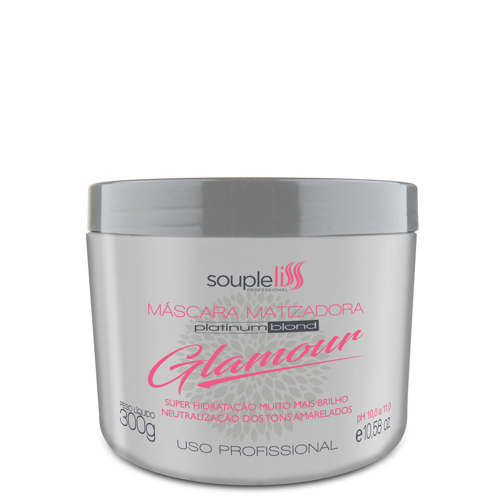 SoupleLiss Glamour Platinum Blond Tinting Mask 300ml / 10.14fl.oz
