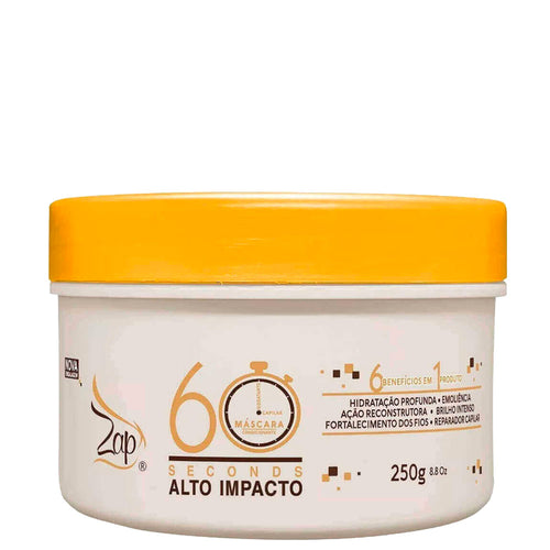 Zap Mask 60 Seconds High Impact 250g / 8.81fl.oz