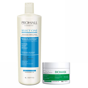Prohall Kit Select One Progressiva & Biomask Hydration for Damaged Hair