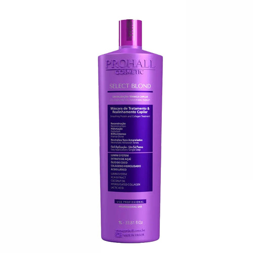 Prohall Select Blond Progressive Without Formalin for Blond Hair 1L/33.8fl.oz