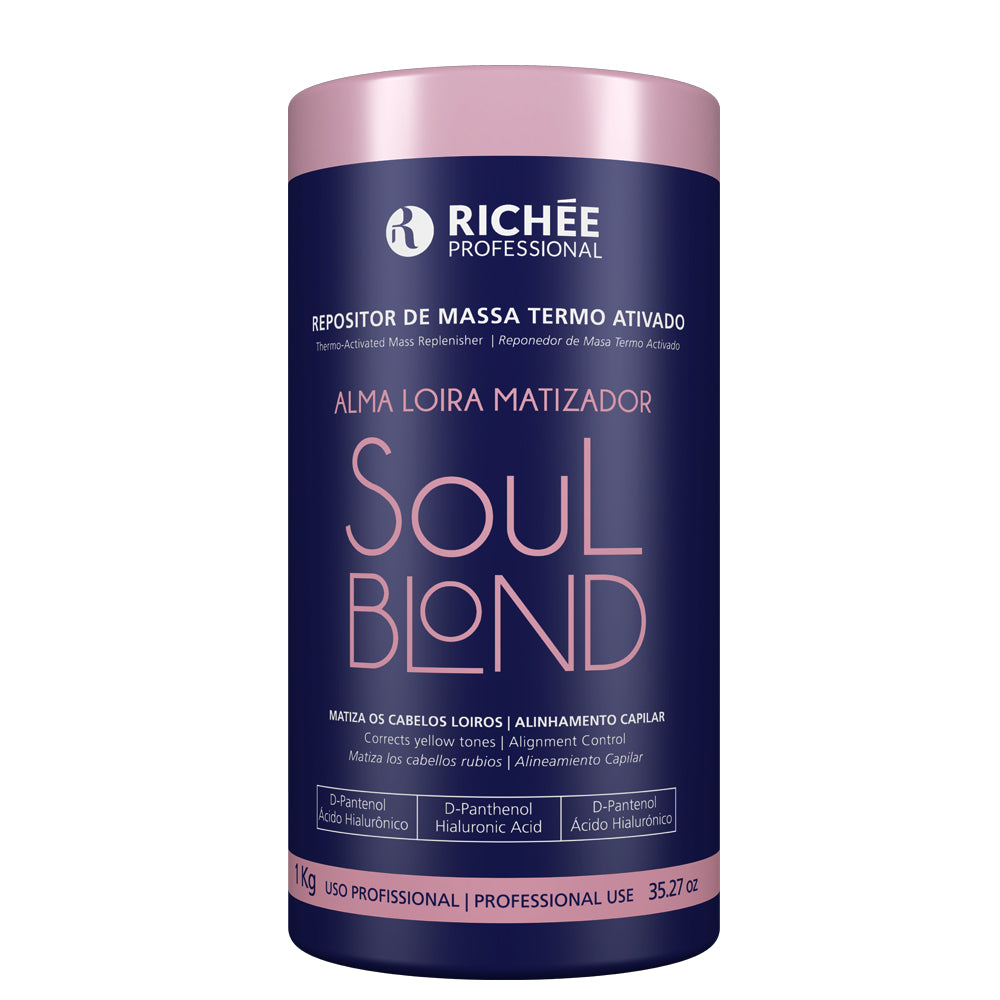 Richée Soul Blond Mass Repositories Thermo Activated 1kg/33.81fl.oz