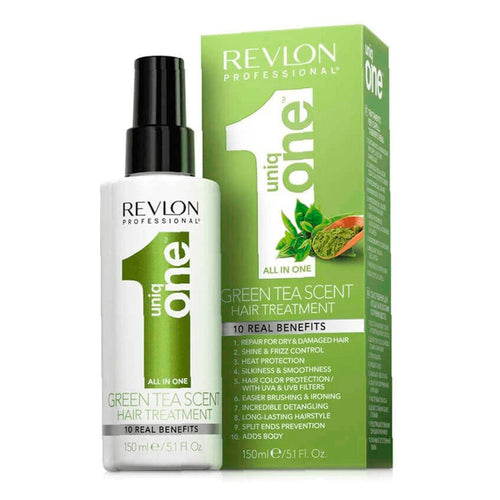 Revlon Professional Uniq One Green Tea Scent Hair Treatment Spray Mask 150ml/5.1fl.oz