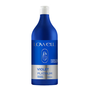 Lowell Violet Platinum Blonde Moisturizing Tinted