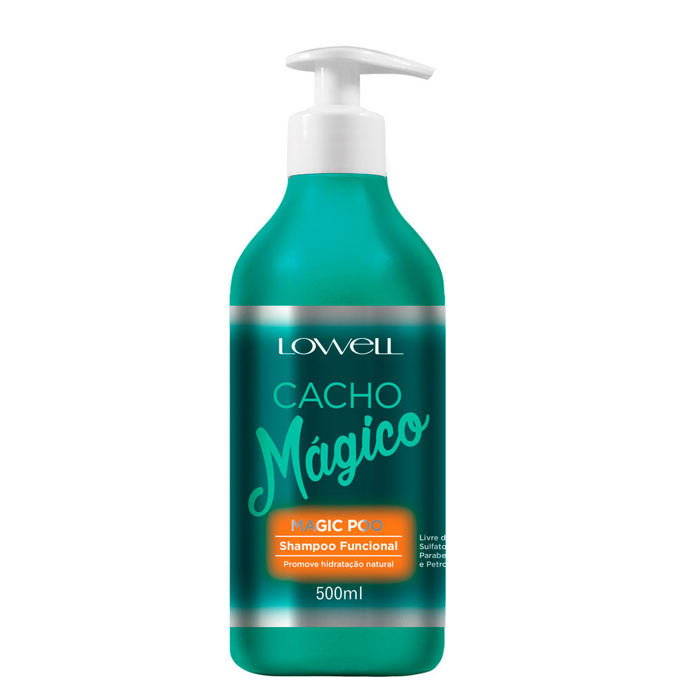 Lowell Cacho Mágico Shampoo Magic Poo 500ml/16.90fl.oz