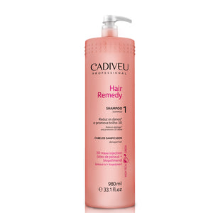 Cadiveu Hair Remedy Shampoo Backwash 980ml + SOS Sérum 150ml