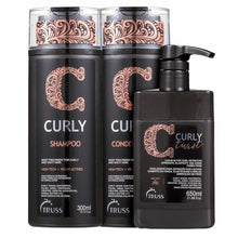 Load image into Gallery viewer, Truss Curly Duo Kit Shampoo and Conditioner + Leave-in