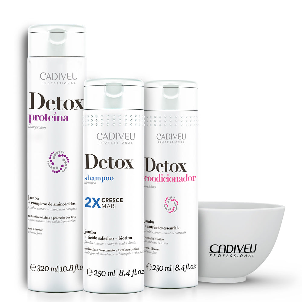 Cadiveu Hair Detox Kit Grows 2 x More Healthy and Nourished