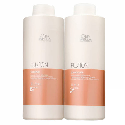 Wella Fusion Intense Repair Shampoo and Conditioner Kit