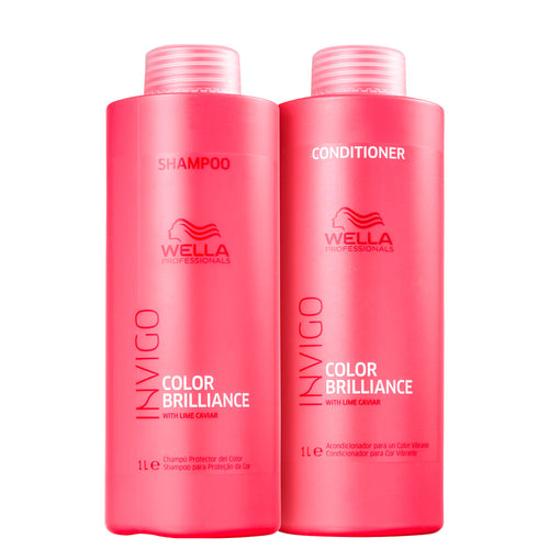 Kit Wella Invigo Color Brilliance Profissional Treatment