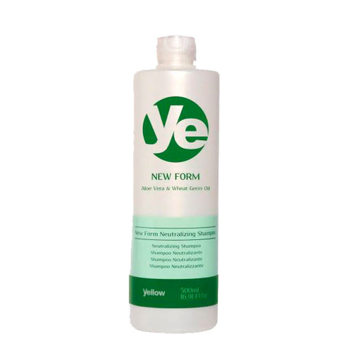 Yellow New Form Neutralizing Shampoo Hydrated Hair