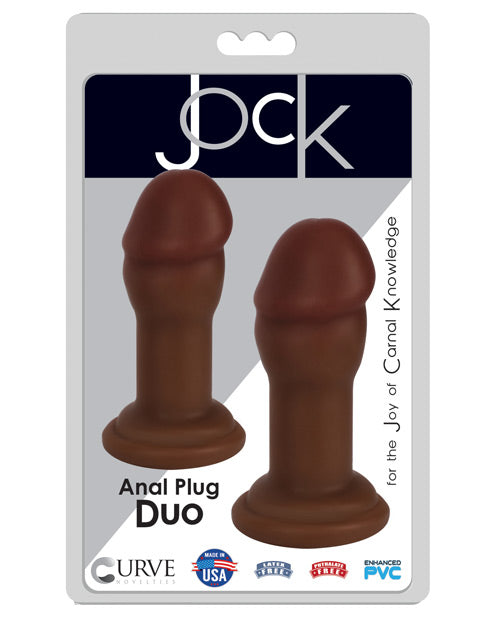Curve Novelties Jock Anal Plug Duo Set